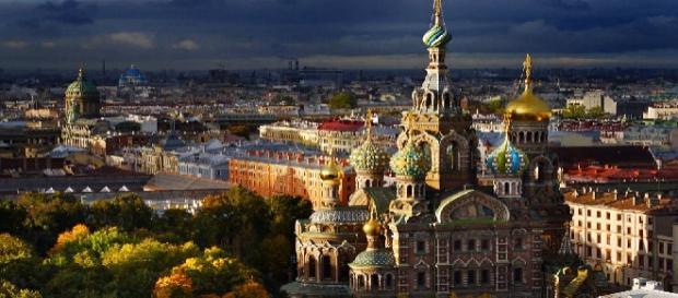 Vista general de San Petersburgo