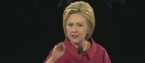 Hillary Clinton at AIPAC, via YouTube