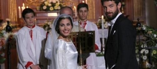 Il Segreto: le nozze di Bosco e Amalia