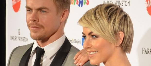 Derek & Julianne Hough. Mingle Media TV/Flickr