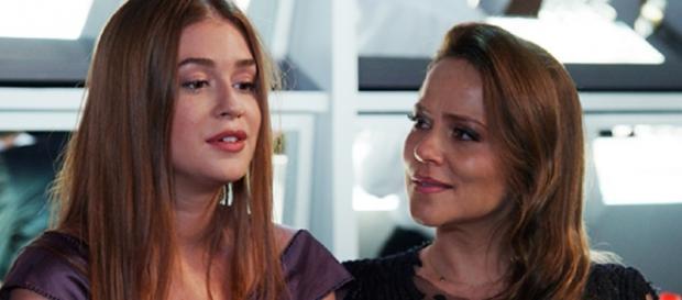 Lili surpreende em conversa com Eliza (Gshow)