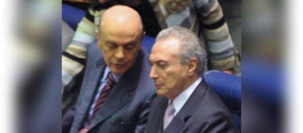 Nasce parceria entre Temer e José Serra