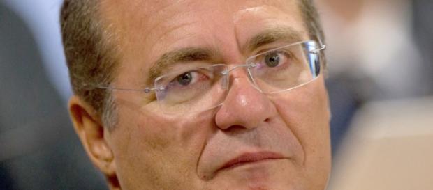 Renan Calheiros, presidente do Congresso Nacional.