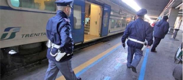 Un român a atacat o italiancă într-un tren