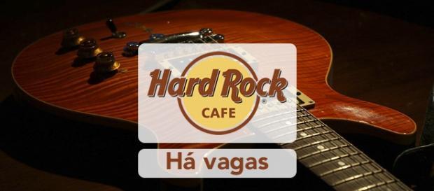Vagas abertas no Hard Rock pelo mundo.