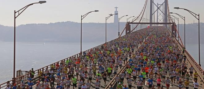 Meia maratona na cidade de Lisboa contou com 40 mil pessoas