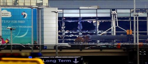 Aeropuerto de Bruselas, atentado terrorista. Reuters.