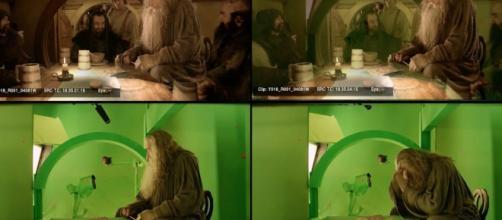 El Hobbit antes y después de los FX