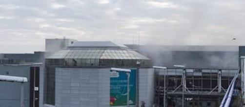 Explosión en el aeropuerto de Zaventem