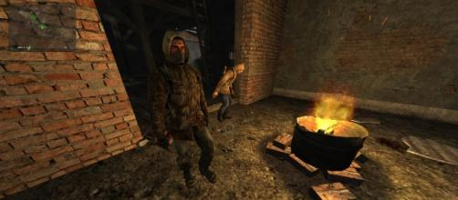 Foto dentro del juego S.T.A.L.K.E.R