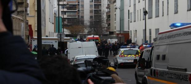 Blitz della gendarmeria durante l'attacco terroristico.