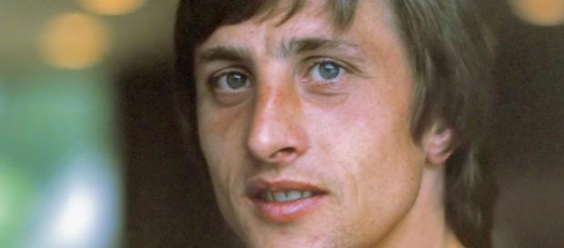 Johan Cruyff in 1974/Photo via Wikipedia.