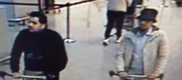 L'uomo col cappello, ricercato dalla polizia belga