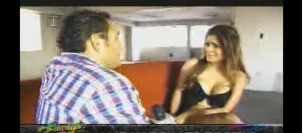 Miriam y su comprometido vídeo en Perú