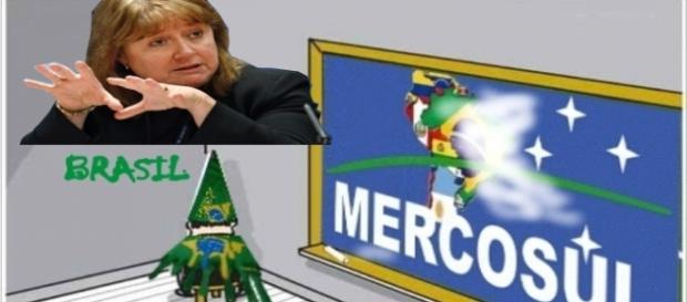 Susana Malcorra defende a presidente Dilma