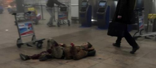 Atentado no aeroporto de Zaventem, em Bruxelas.