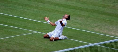Djokovic in 2011/ Photo:Kate (Flickr)