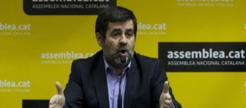 Jordi Sánchez, actual presidente de la A.N.C.