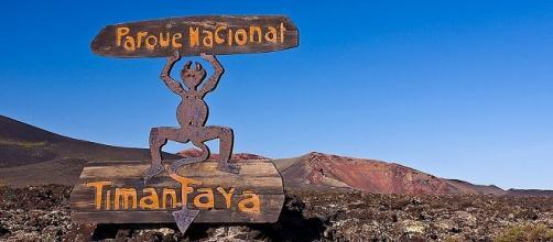 Símbolo del Parque Nacional de Timanfaya (Lanzarote).