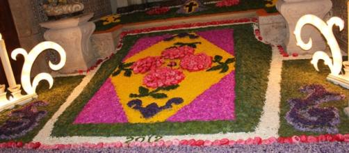 Tapete de Flores na Igreja da Misericórdia (2012)