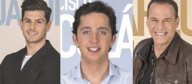 Alejandro Nieto, Fran Nicolás y Carlos Lozano