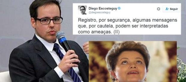 Editor da Globo é ameaçado - Foto/Montagem