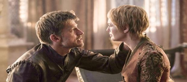 Jaime y Cercei Lannister en la sexta temporada de Game of Thrones