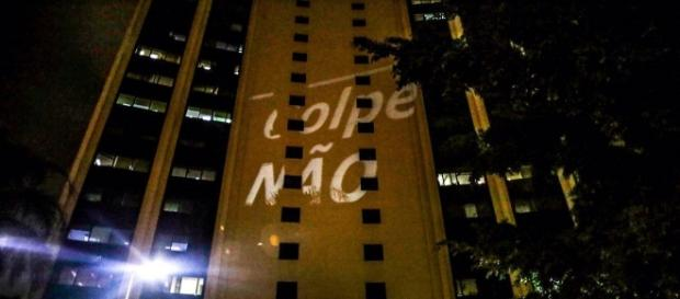 Manifestações contra a Globo. (Reprodução Facebook)
