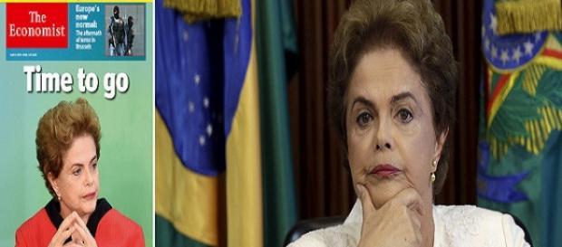 Revista defende a saída de Dilma para salvar o Brasil