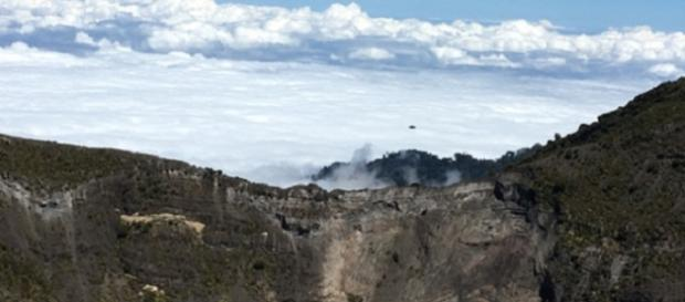 Ufo in Costa Rica sopra parco nazionale