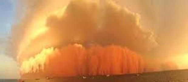 Una tempesta di sabbia travolge la Sicilia