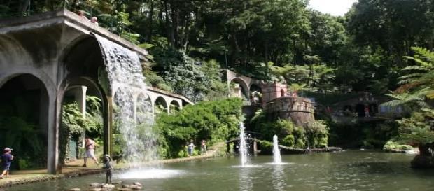 Uno de los jardines tropicales de Funchal