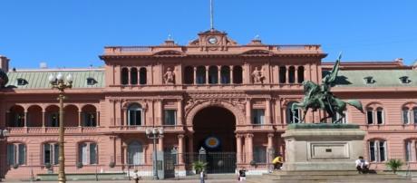 Casa Rosada del Gobierno Argentino.