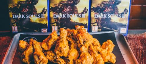 Dark Souls and Chicken Wings = Together at Last? Image: MeatLiquor