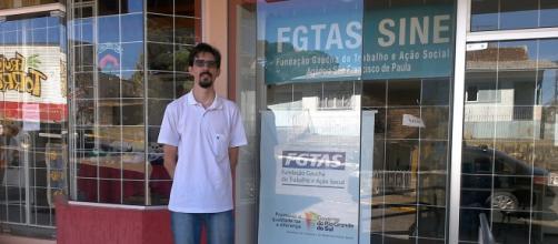 Unidade FGTAS/Sine de São Francisco de Paula. Foto: arquivo pessoal.