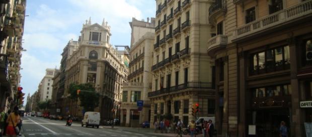 Alguna parte de Barcelona - España