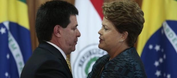 Dilma Rousseff e presidente do Paraguai
