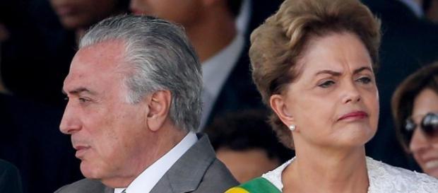 Dilma Temer: lados opostos no impeachment