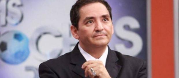 Ernesto Chavana, conductor de televisión. Foto de tomada Facebook.