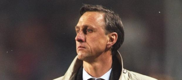 Johan Cruyff en su etapa como entrenador
