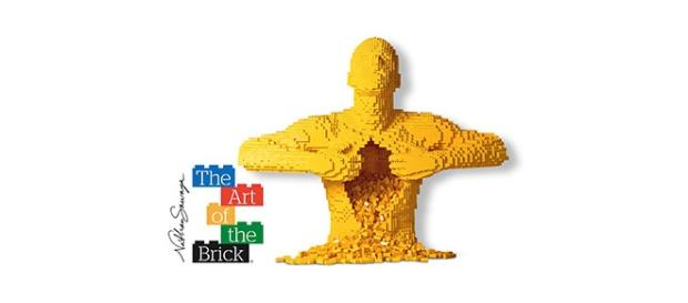 Mostra 'The Art of The Brick' a Roma