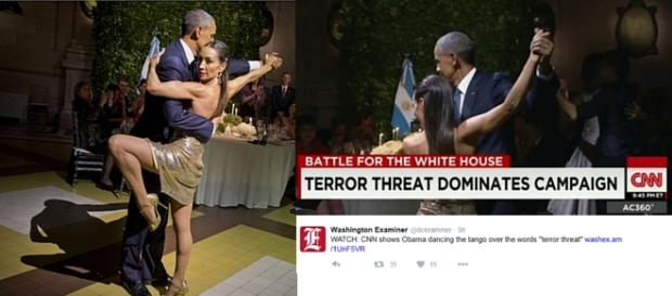 President Obama Dances Argentine Tango