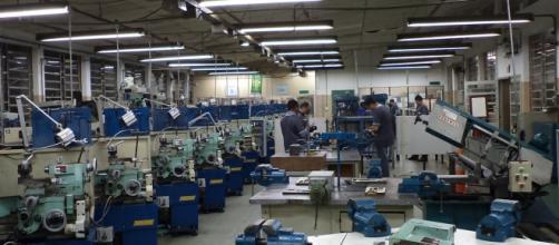 A produção industrial nunca esteve tão ociosa. Foto: arquivo pessoal.