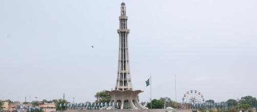 L'Iqbal Park di Lahore in Pakistan