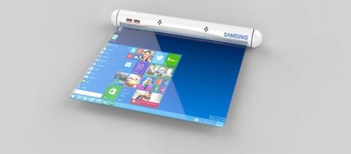 Las tablets enrollables son uno de los inventos que podría revolucionar el mercado tecnologico