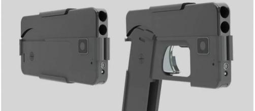 Nova arma lembra modelo de iPhone