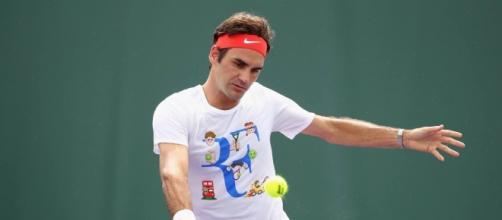 Roger Federer abandonou o Aberto de Miami