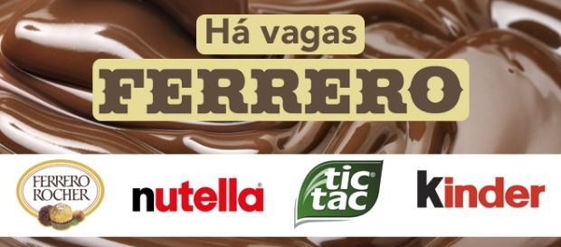 Ferrero está contratando em vários países