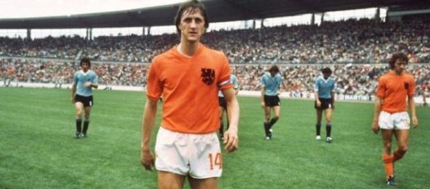 Holland's famous number 14: Johan Cruyff