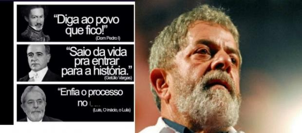 Lula vira assunto do Twitter - Foto/Montagem